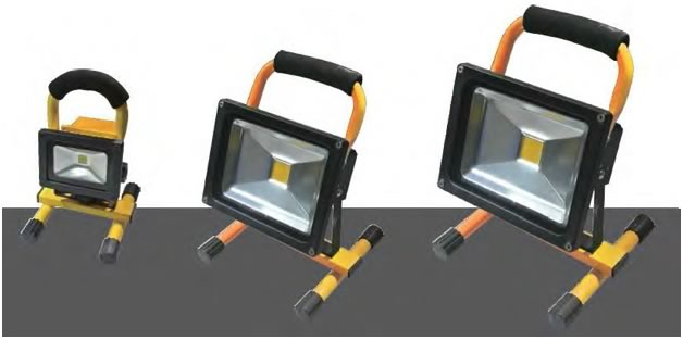 Rechargeable LED Work Lights
